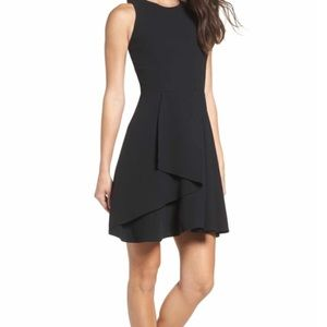 NWOT Adelyn Rae Athena Ruffle Fit and Flare Dress